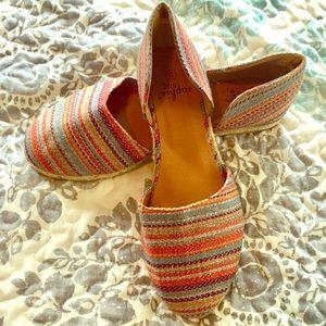 Sophie Sue woman's colorful espadrille shoes